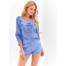 Женская пижама с шортами Taro 2459 AW20/21 JUDYTA