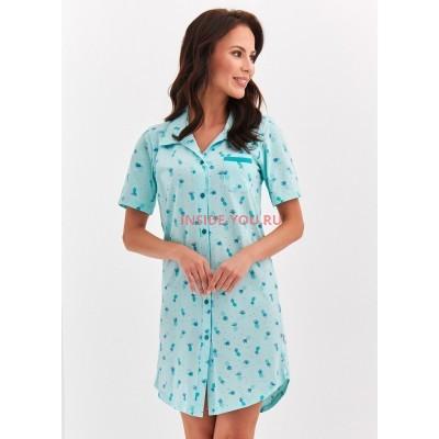 Женская сорочка Taro 2139 S20 DALIA blue