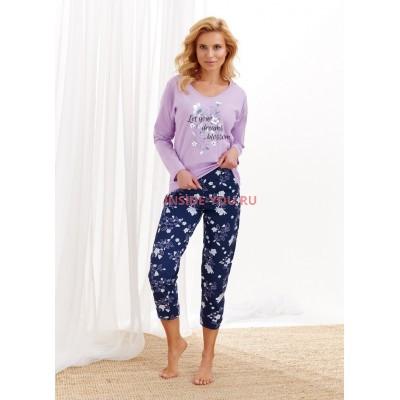 Женская пижама со штанами Taro 2316/2469 AW20/21 AGNIESZKA