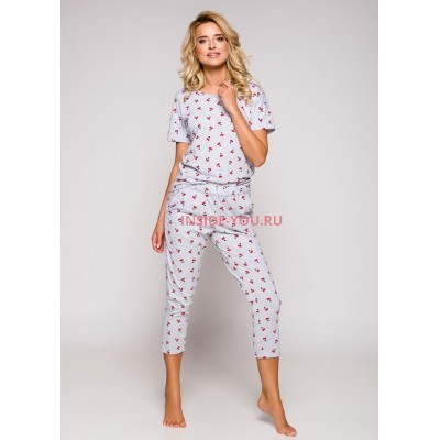 Пижама женская Taro 2277 19 Ksara Красный