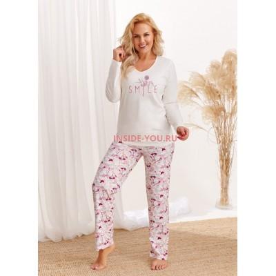 Женская пижама со штанами Taro 2449/2462/2463 AW20/21 IGA