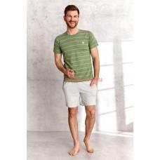 Пижама мужская Taro 2513 SS21 BRUNO Зеленый