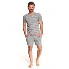 Пижама мужская Taro 2513 SS21 BRUNO Серый