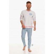 Пижама мужская Taro 2656 21/22 MARIO Белый