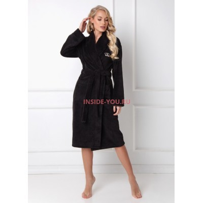 Женский халат ARUELLE KATE BLACK
