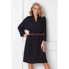 Женский халат ARUELLE ANNALISE BLACK