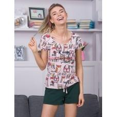 Женская пижама INDEFINI 539026