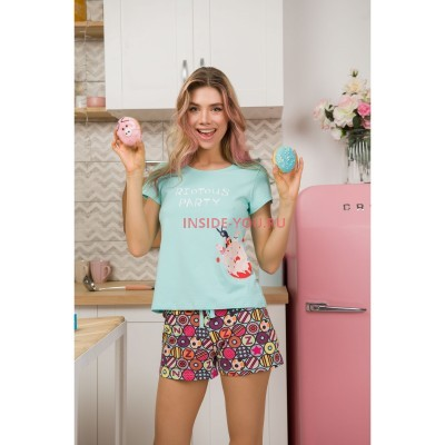 Женская пижама INDEFINI 539016