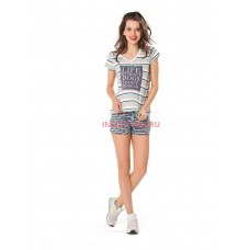 Женская пижама INDEFINI 537024