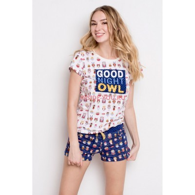 Женская пижама INDEFINI 538022