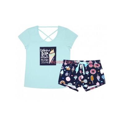 Женская пижама INDEFINI 538060