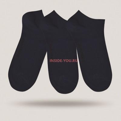 Мужские короткие носки  JOHN FRANK JF3SS17S01 синие