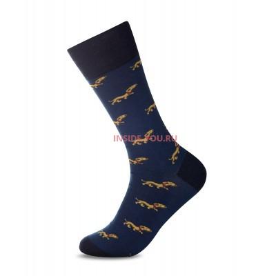 Мужские высокие носки  JOHN FRANK  JFLSCOOL03