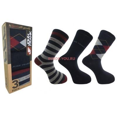 Мужские высокие носки  JOHN FRANK  JF3LS17W07
