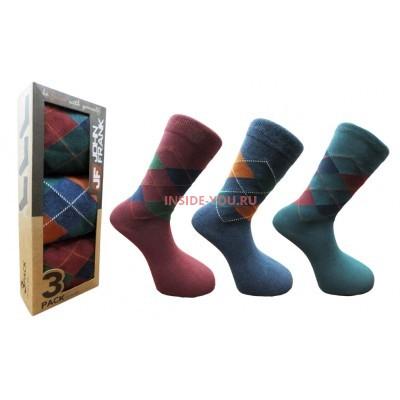 Мужские высокие носки  JOHN FRANK  JF3LS17W08