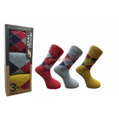 Мужские высокие носки  JOHN FRANK  JF3LS17W09
