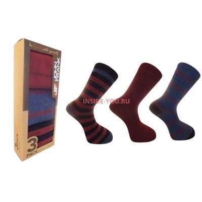 Мужские высокие носки  JOHN FRANK   JF3LS17W10-2