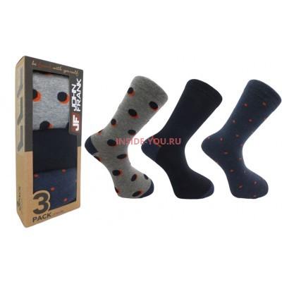 Мужские высокие носки  JOHN FRANK  JF3LS17W22