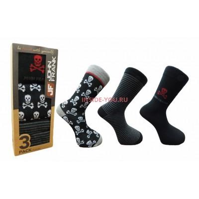 Мужские высокие носки  JOHN FRANK  JF3LS17W23-1