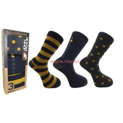 Мужские высокие носки  JOHN FRANK  JF3LS17W26-1
