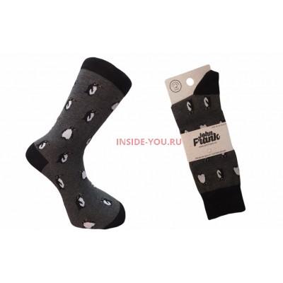 Мужские высокие носки  JOHN FRANK  PENGUIN